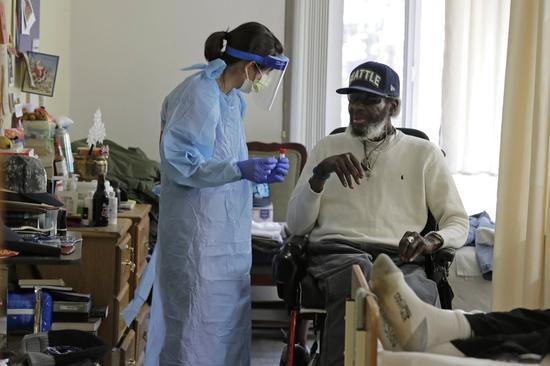 美国新冠肺炎确诊超86万例 确诊和死亡人数还在上升