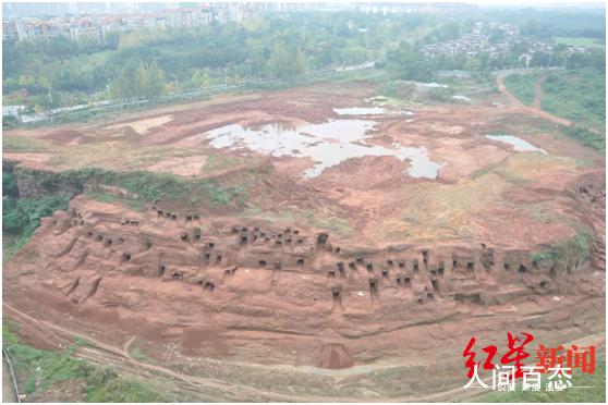 四川金堂发掘219座崖墓 这两件精美玻璃耳珰亮了