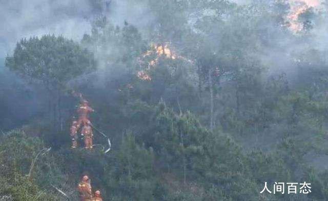 四川凉山再发火灾 近900人正参与扑救