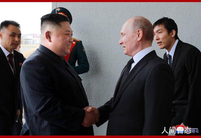 金正恩向普京致贺电 祝贺俄罗斯卫国战争胜利75周年
