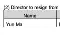马云将从软银董事会辞职 将在6月25日辞任软银董事