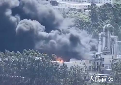 福建新能源公司起火事故2人失踪 现场救援正在紧张有序展开