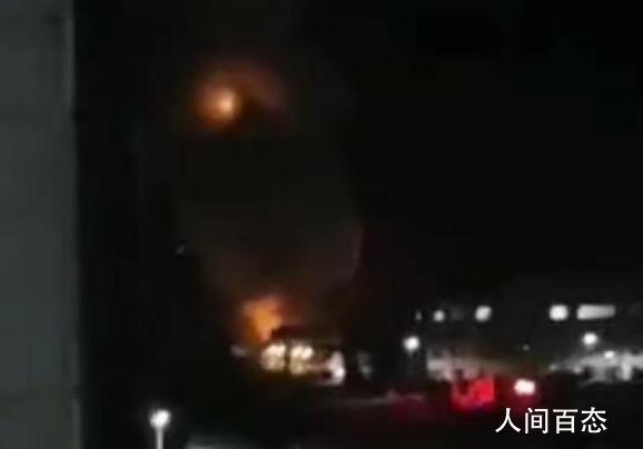 辽宁污水处理厂爆炸 居民称家中玻璃全被震碎