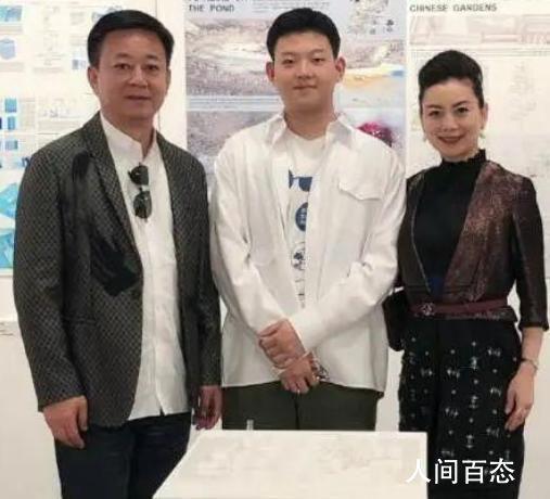 朱军儿子罕见露面 朱思潭个人资料介绍