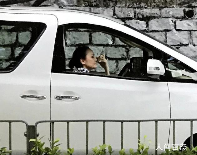 张柏芝妈妈开网约车 等一小时没接到单