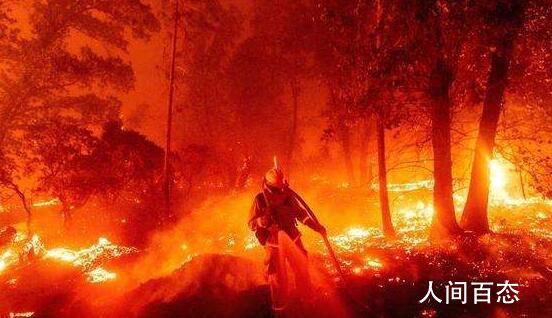 山火中美国民众跳湖保命 已造成至少33人死亡数十人失踪