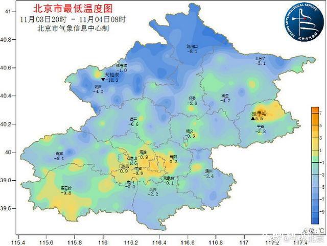 北京气温下半年来首次破零 明显感到了冬天的味道