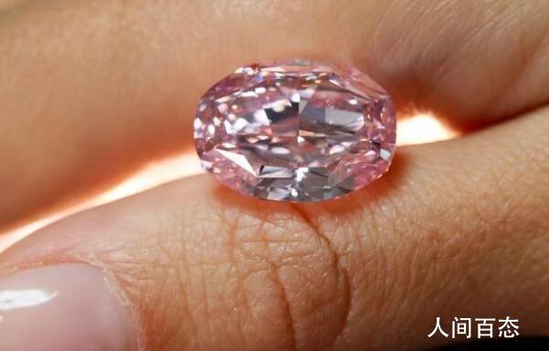 世界最大紫粉钻石拍出2660万美元 中标者名字尚未公开披露