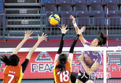 天津女排战胜上海女排 让对方六连胜的脚步戛然而止