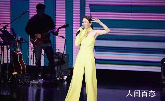 周蕙再登TICC开唱挑战舞蹈演出 21年经典歌曲连发