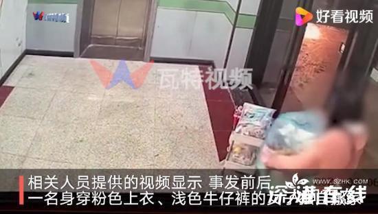 货拉拉跳车身亡女孩搬家监控曝光 未见货拉拉司机进入公寓参与行李搬运