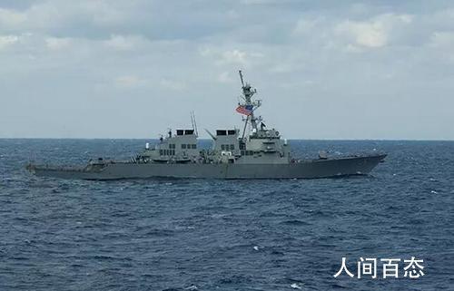 美舰穿航台湾海峡 东部战区回应