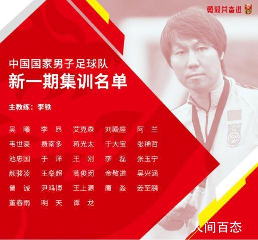 四大归化球员入选国足名单 北京国安与广州队依然是国脚大户