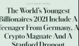 德国18岁少年成最年轻亿万富豪 网友:别人家的18岁