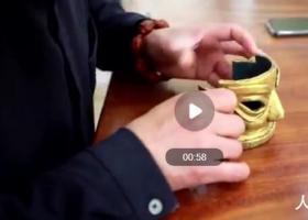黄金面具用米也能做 整个过程十分惊艳
