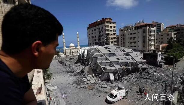 以色列空袭哈马斯总部大楼 还提前1个小时通知哈马斯撤离