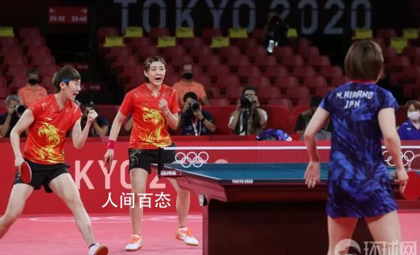 中国看台上全是世界冠军 国乒女团3:0提前收工夺金