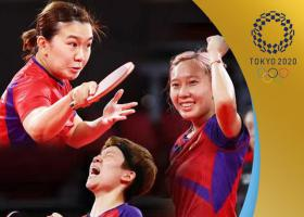 中国香港队获得乒乓球女团铜牌 3-1击败德国