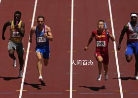 中国队晋级男子4x100米决赛 晋级明天的决赛