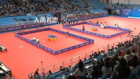 乒乓男团铜牌战因不明气味一度中断 球员捂鼻逃离现场