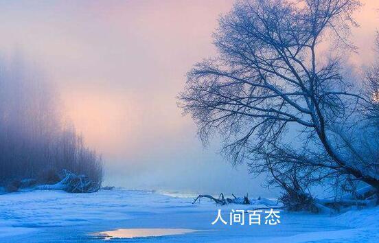 中国最冷小镇提前供暖 最低温降至-10.6℃