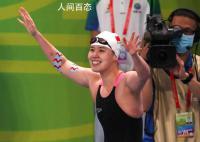 傅园慧夺100米仰泳铜牌 提到重病教练她不停擦拭泪水