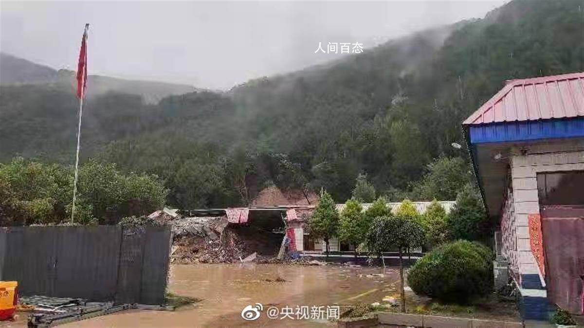 山体滑坡4名交警遇难 交警中队宿舍被埋